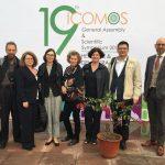 Dr. Dalė Puodžiukienė ir M. Daraškevičius pristatė pranešimą 19-oje ICOMOS generalinėje asamblėjoje ir moksliniame simpoziume Delyje