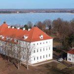 """Biržų muziejuje """"Sėla"""" M. Daraškevičius skaitė viešą paskaitą """"Grafų Tiškevičių Astravo dvaro rūmų valgomasis"""""""